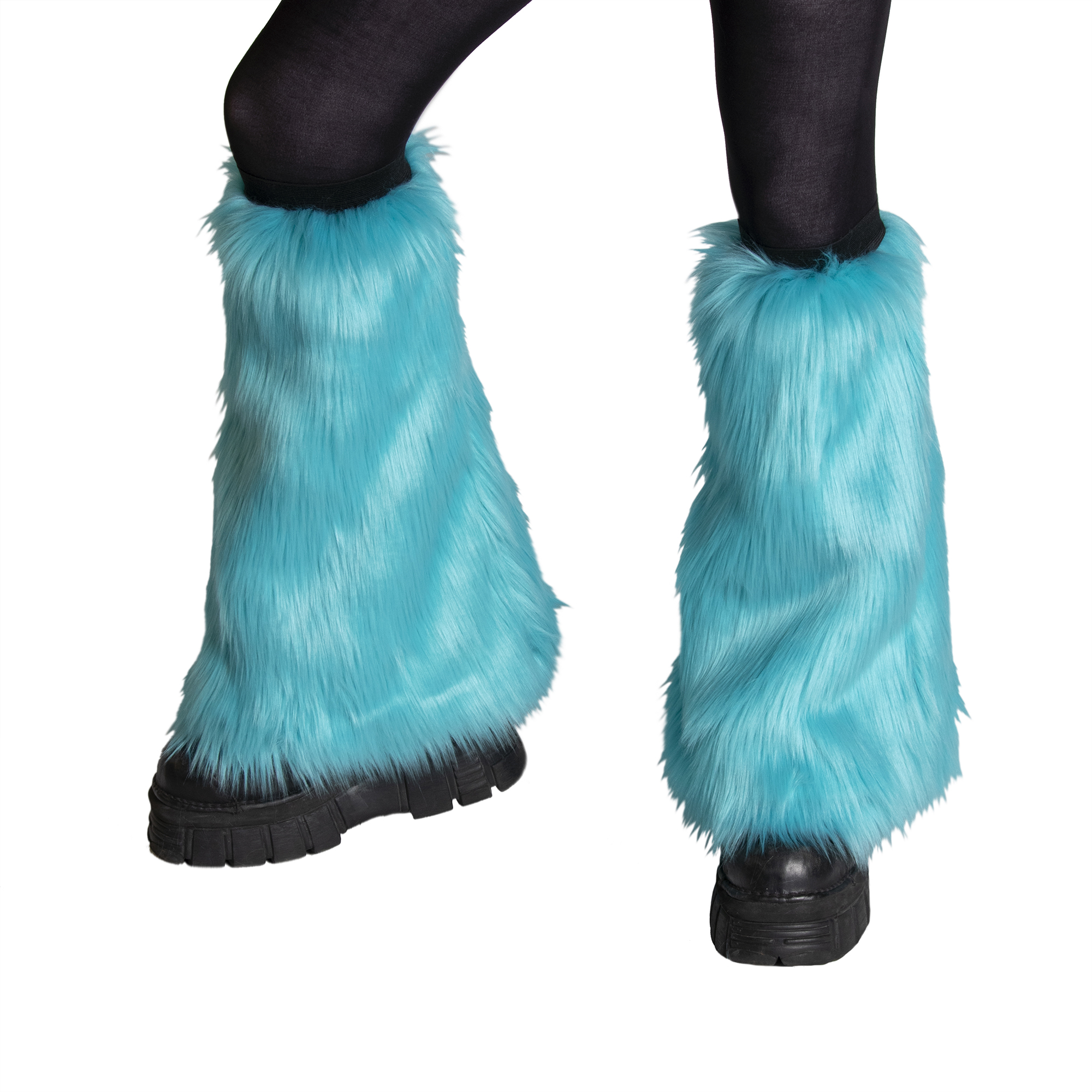 Monster Fur Leg Warmers