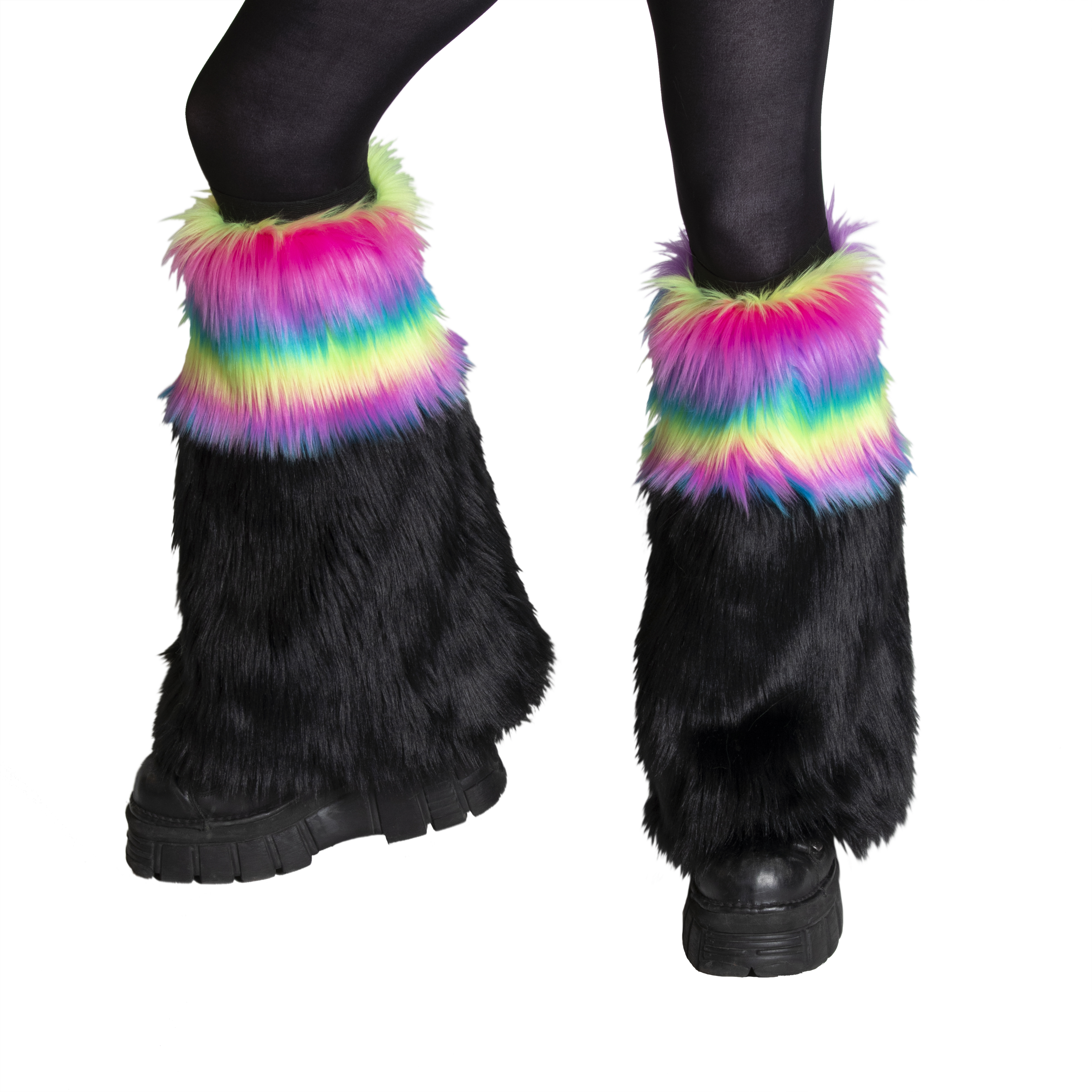 Special Fur (SP) Two-Tone Leg Warmer
