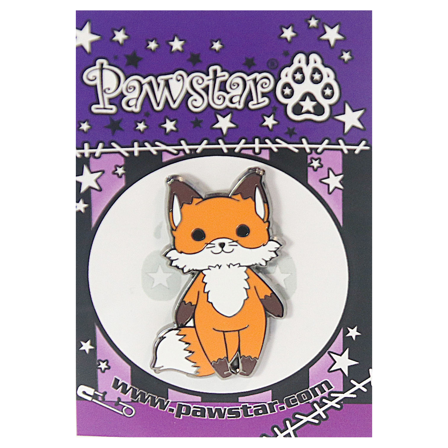 Pawstar Collector's Pin - Chuffins™ The Happy Fox