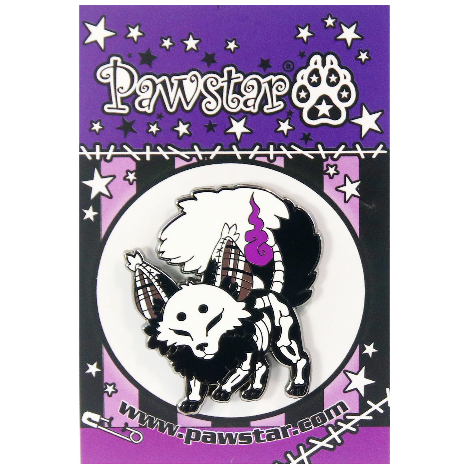 Pawstar Collector's Pin - Nippers™ The Spooky Fox