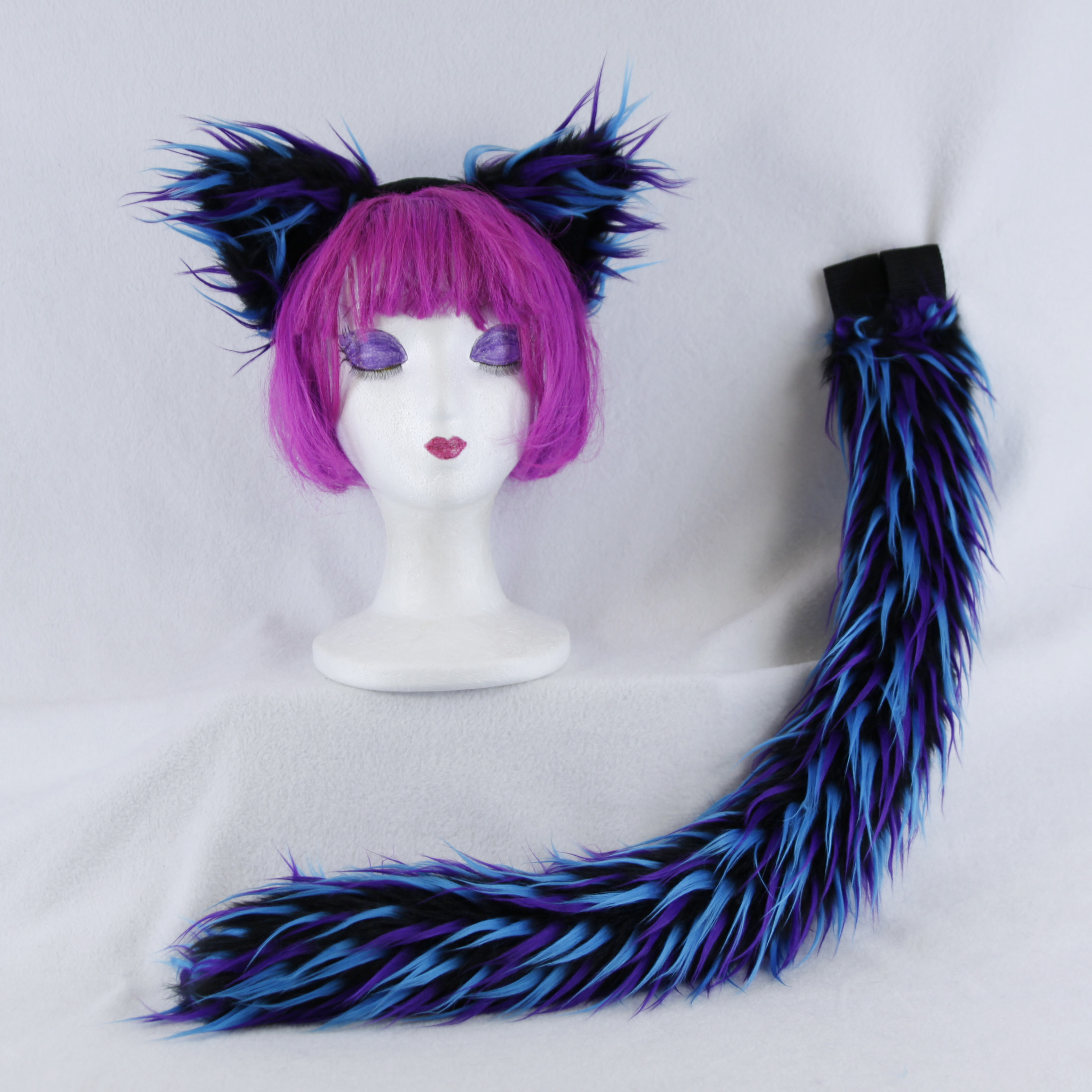 Party Furz Fluffy Mew Ear and Tail Set