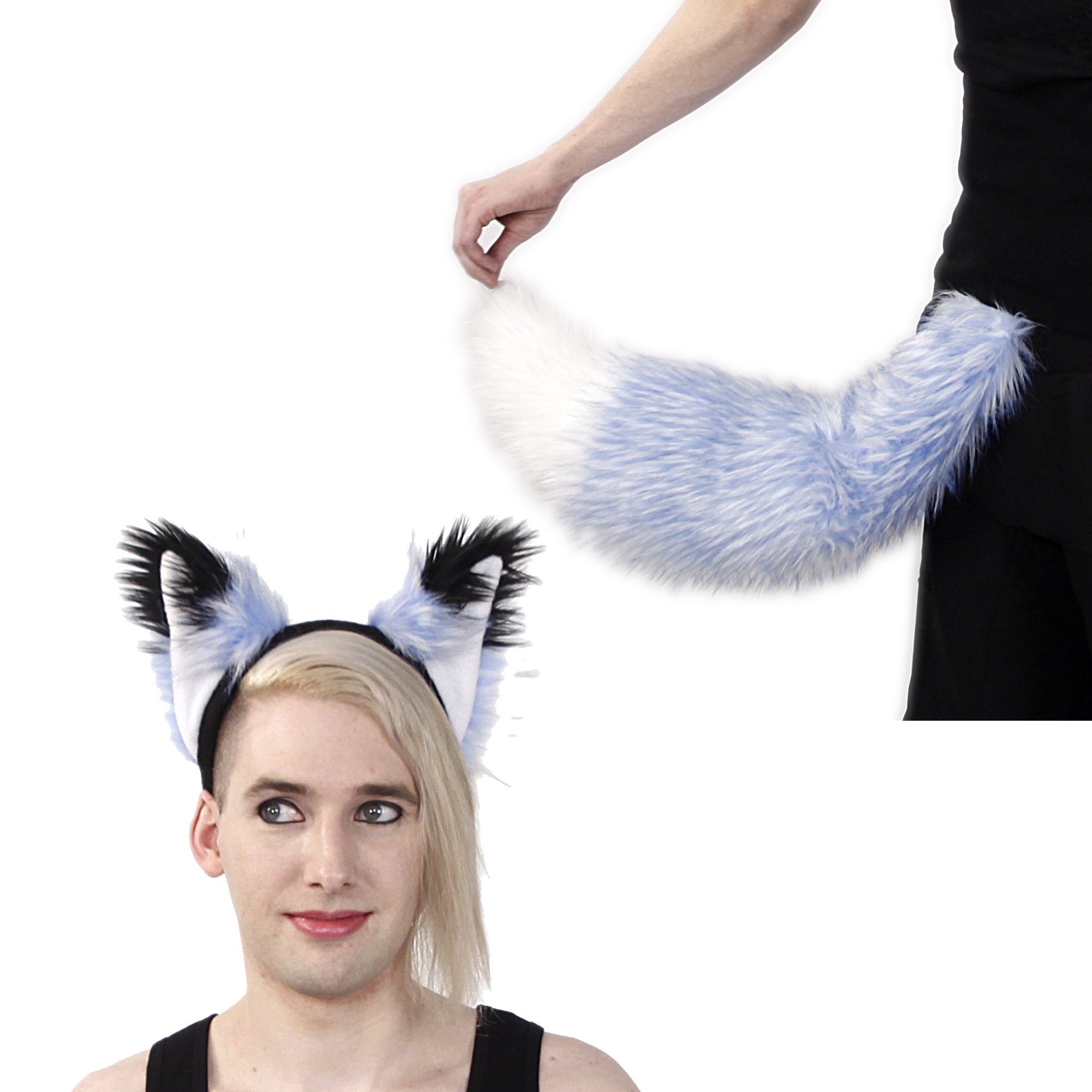 Frosty Fox Yip Ear & Full Tail Set