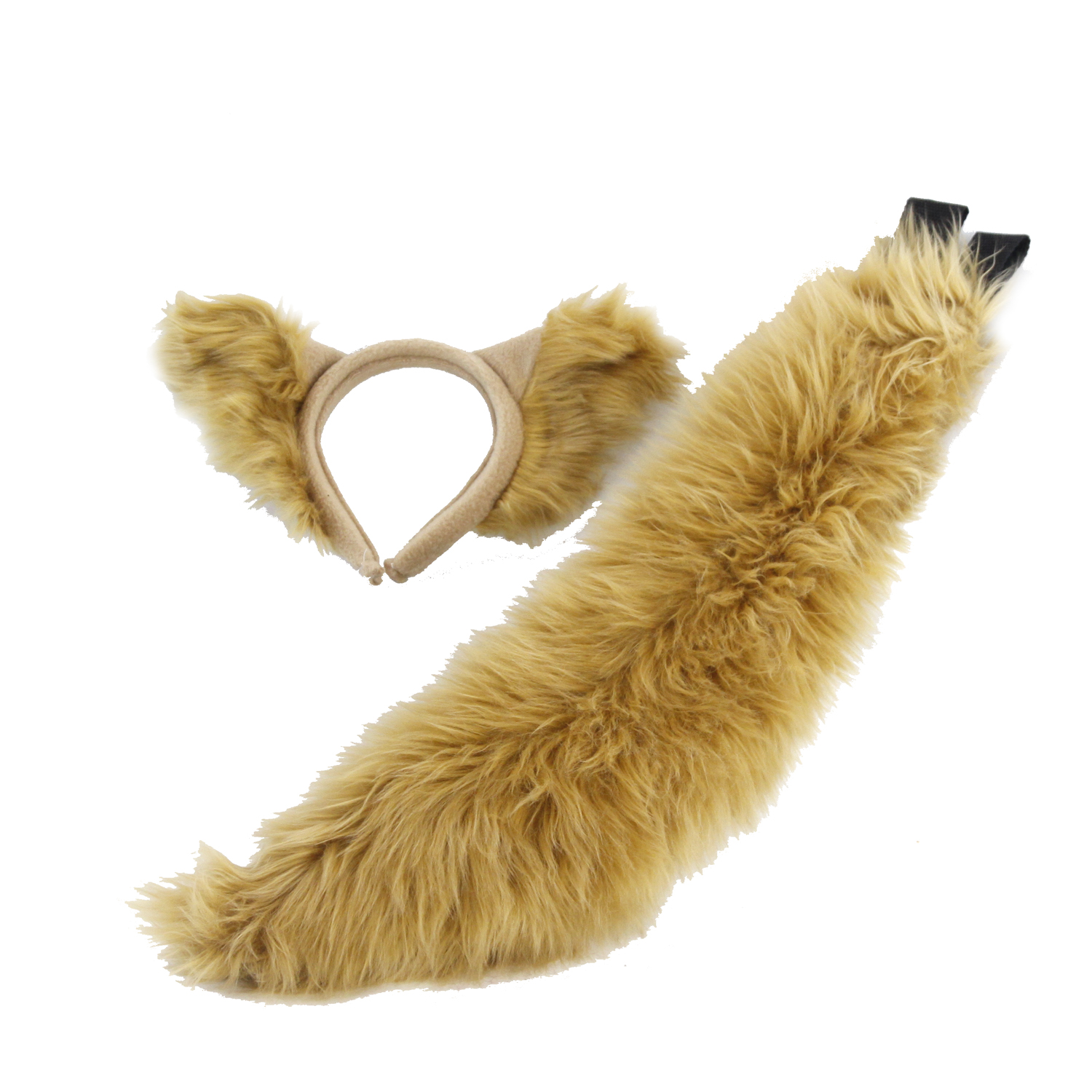 Classic Wolf Ears & Mini Tail Set