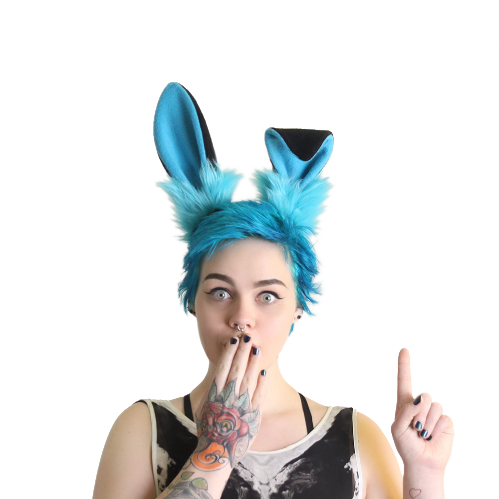 Uppy Bunny Ear Headband  - Color Theme
