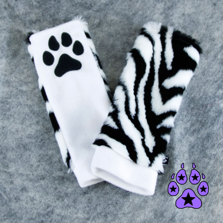 Tiger Paw Warmers