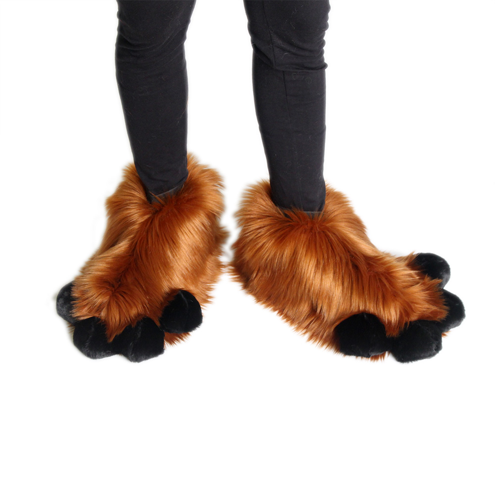 Fluffy Foot Paw Covers - Monster Fur