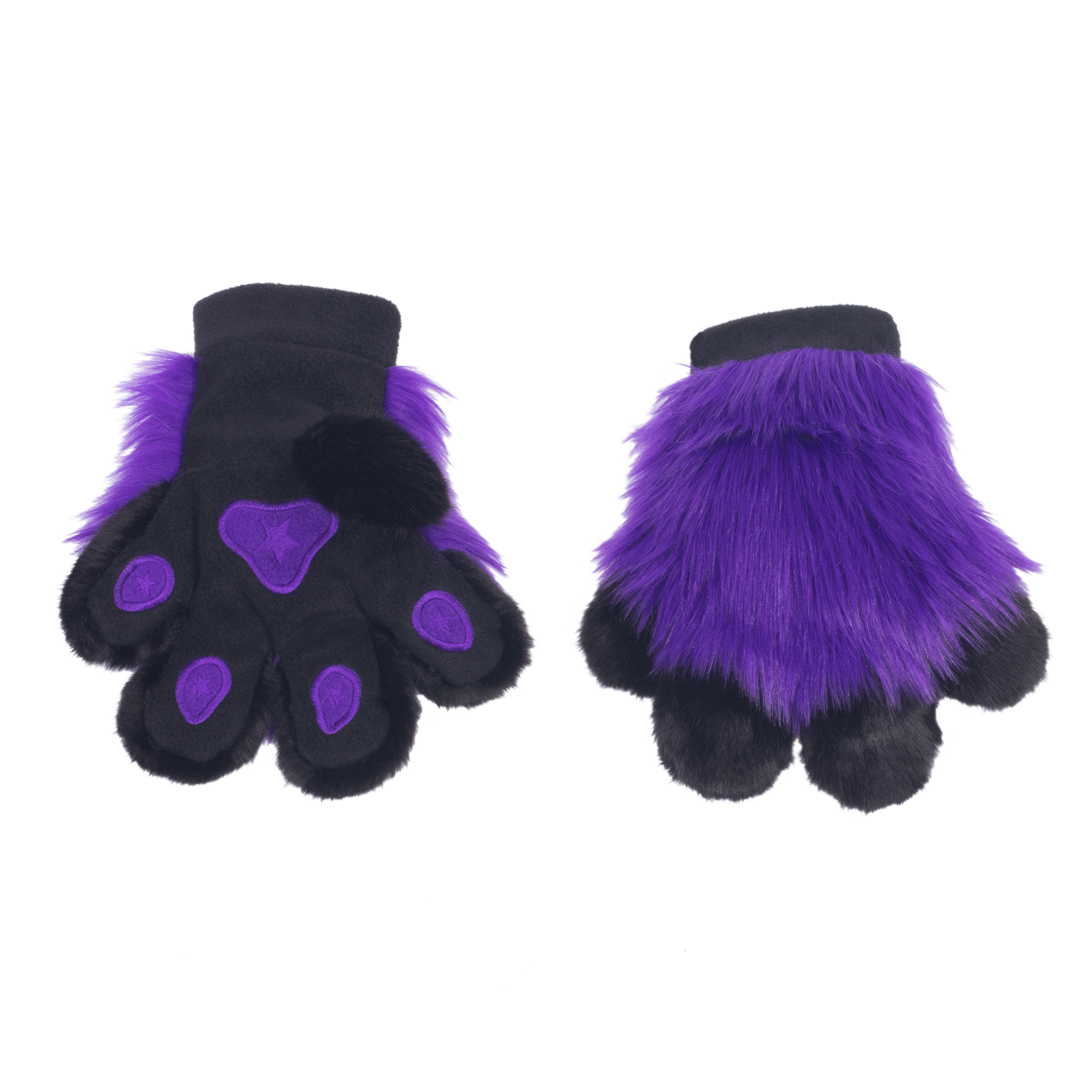 PawMitts Hand Paw Gloves - Monster Fur