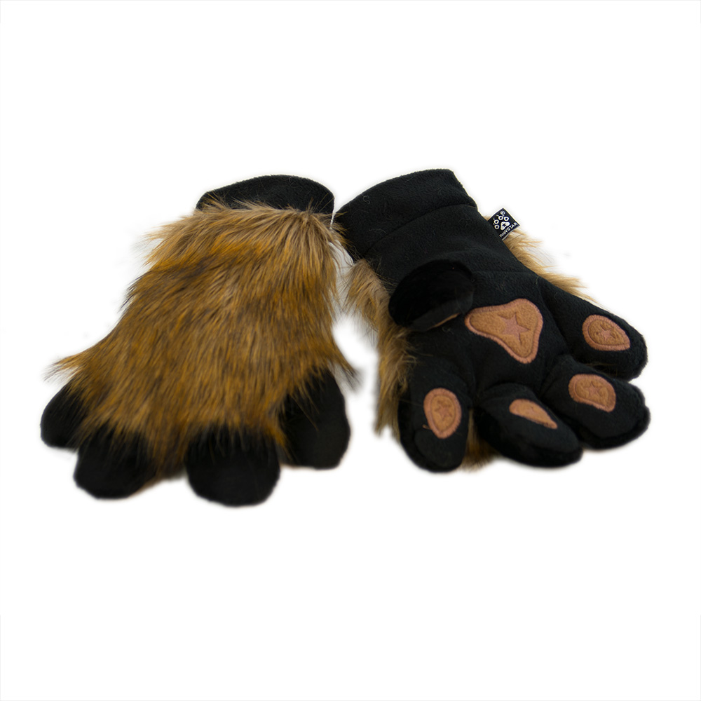 PawMitts Spicy Fox Paw Hand Gloves